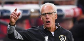 Mick McCarthy relishing Euro 2020 qualifying 'cup final' with Denmark after Swiss defeat