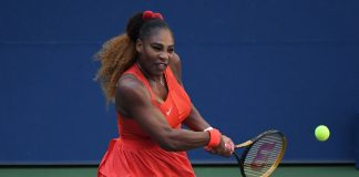 Serena Williams rallies to beat Sloane Stephens in three sets at US Open
