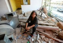 Beirut businesses crowdfund to rebuild after blast
