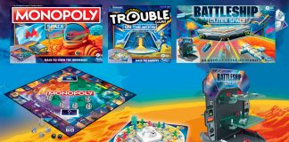 Monopoly, Battleship and Trouble in space! Hasbro's Space Capsule games land at Target.