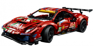 The Latest Addition to the LEGO Technic Line is the Ferrari 488 GTE