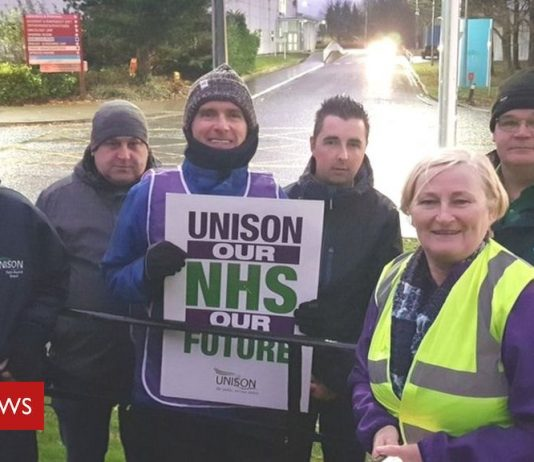 Health workers strike: Nurses at Altnagelvin Hospital to join protests