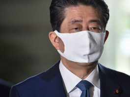 Japanese PM Shinzo Abe says he's stepping down due to resurfacing health issues