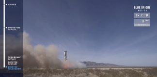Blue Origin launches capsule to space with astronaut perks