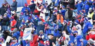 Bills Mafia ready to break tables after beating Ravens in Divisional Round