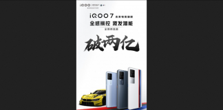 The iQOO 7 racks up ~US$30.9 million for its first day on the market News