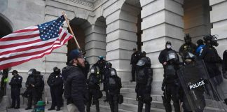 New Mexico official arrested after allegedly leading Capitol rioters in prayer