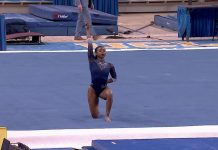 Nia Dennis' incredible 9.95 floor exercise