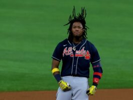 Ronald Acuña trying to beat the Marlins by himself has Braves fans on cloud nine