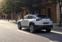 Mazda's MX-30 Crossover EV Will Come to the U.S., Complete with Suicide Doors