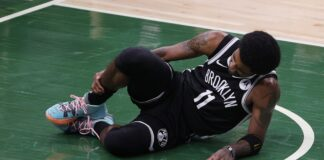 Kyrie Irving out for Game 4 after suffering concerning ankle injury (Video)