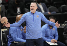 Nuggets' Michael Malone Says Nikola Jokic Didn't Deserve Ejection for Cam Payne Foul