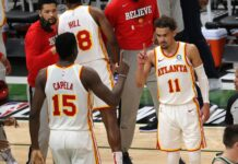 Shannon Sharpe, Skip Bayless react to Trae Young and Hawks winning Game 1 from Bucks