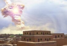 A giant space rock demolished an ancient Middle Eastern city, possibly inspiring the Biblical story of Sodom