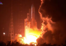 Ariane 5 rocket successfully launches two satellites into orbit on its heaviest mission ever